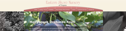 eastern shore nursery website image