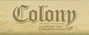 Colony Nursery Company logo